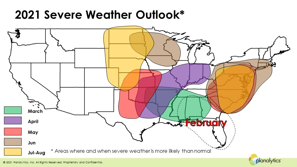 2021 severe weather outlook