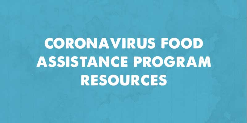coronavirus food assistance program image