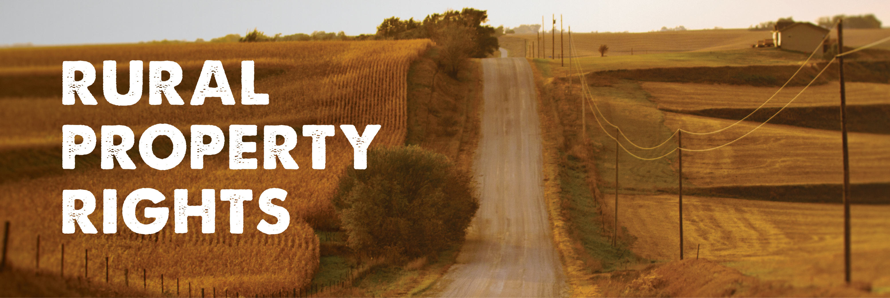 Rural Property Rights