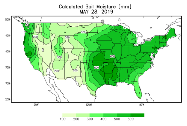 calculated soil moisture may 28 2019