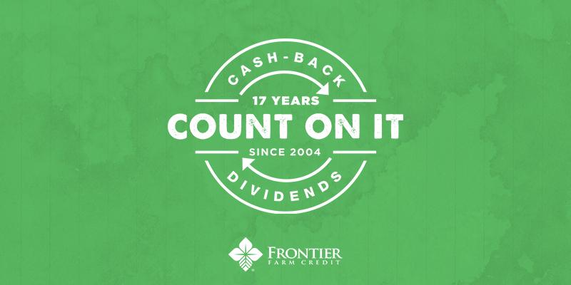 2021 cash back dividends